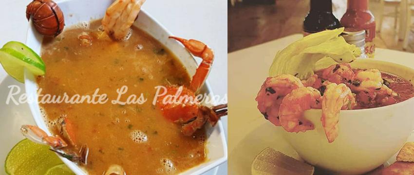 Restaurante Las Palmeras Lago de Coatepeque